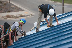 Metal roofing installation Irving, Texas