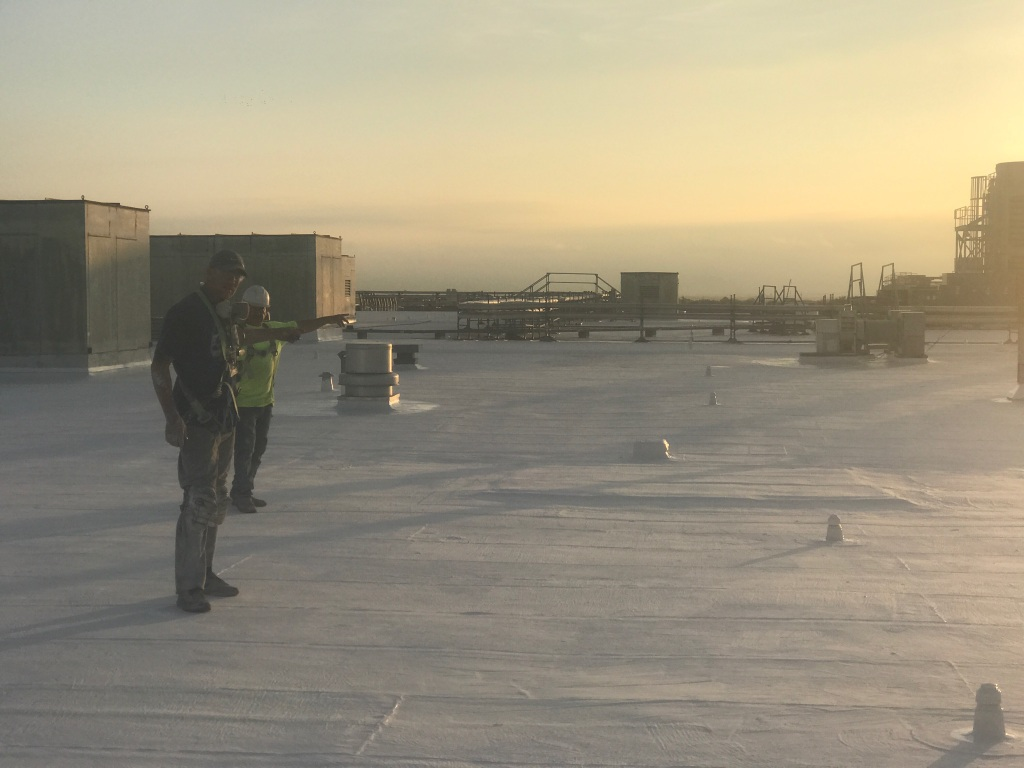 Commercial roof repair in Dallas, Texas