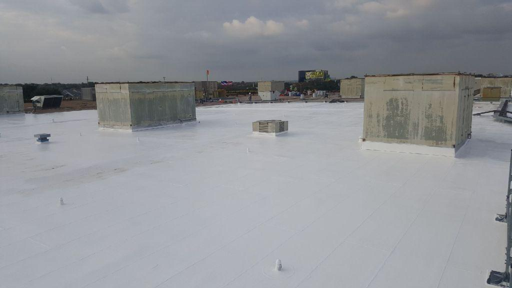 Dallas Texas Commercial Silicone Roof