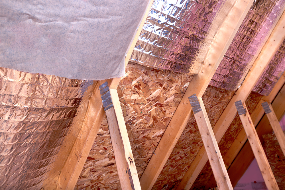 Insulation in a Commercial Roof